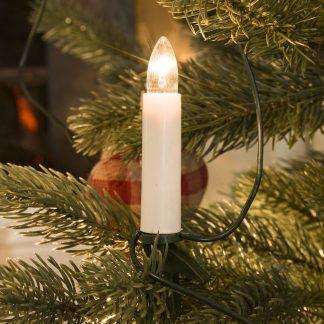 Joulukuusen valosarjat