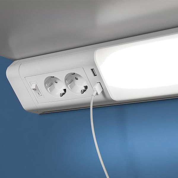 Työpistevalaisin LED-Light USB työpöytävalaisin hintaan 98,51€